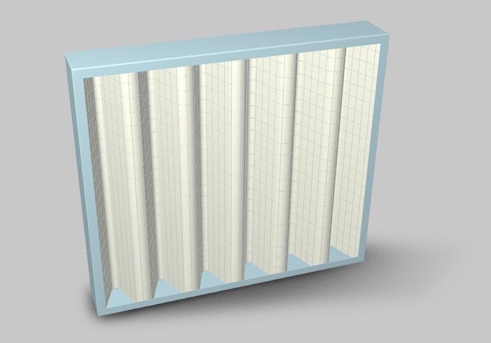 Filtering panel