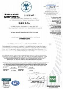 CertificazioneISO90012015